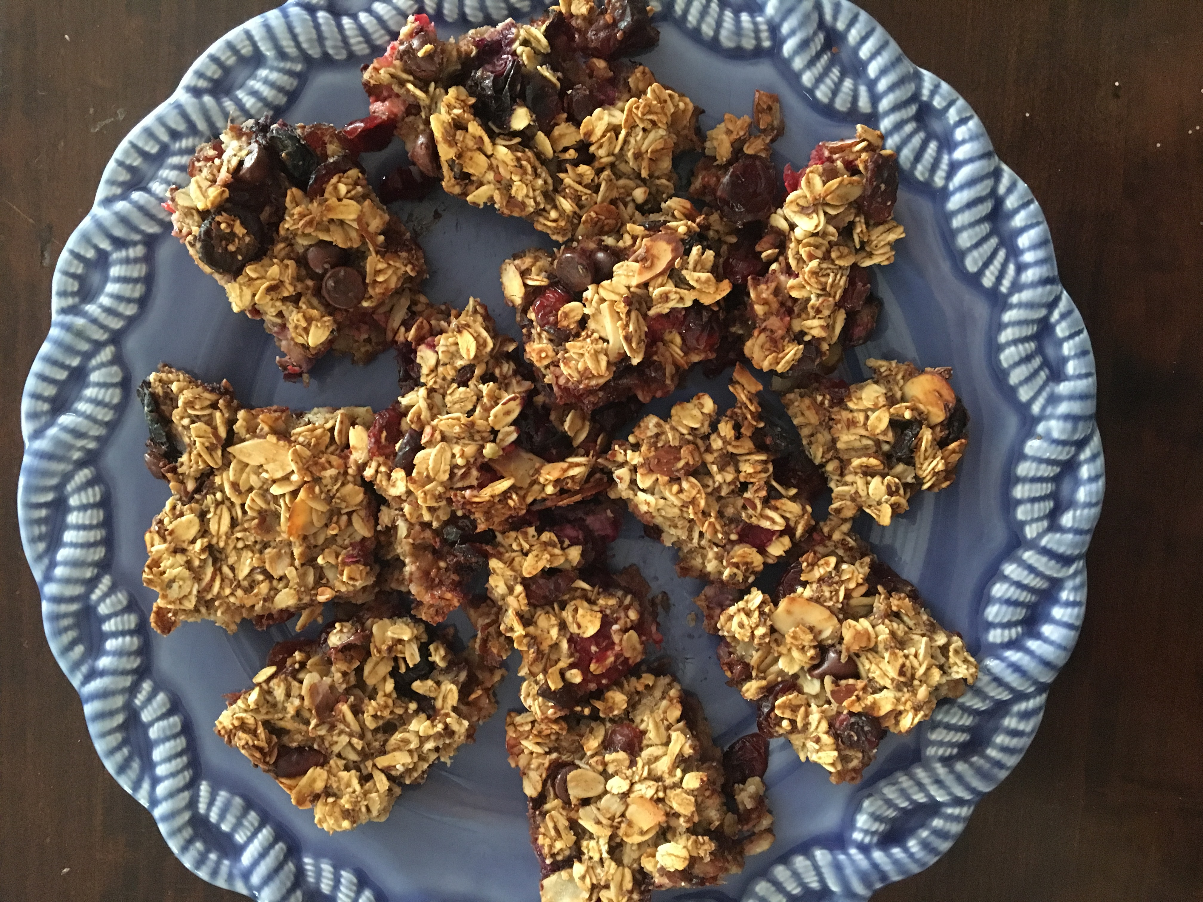 Healthy Oatmeal Bars