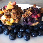 Yummy No Refined Sugar Added, Gluten-free Muffins with a Vegan Version