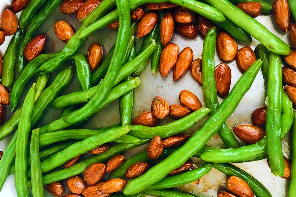 Super Power Side Dish: Green Beans Sautéed With Almonds