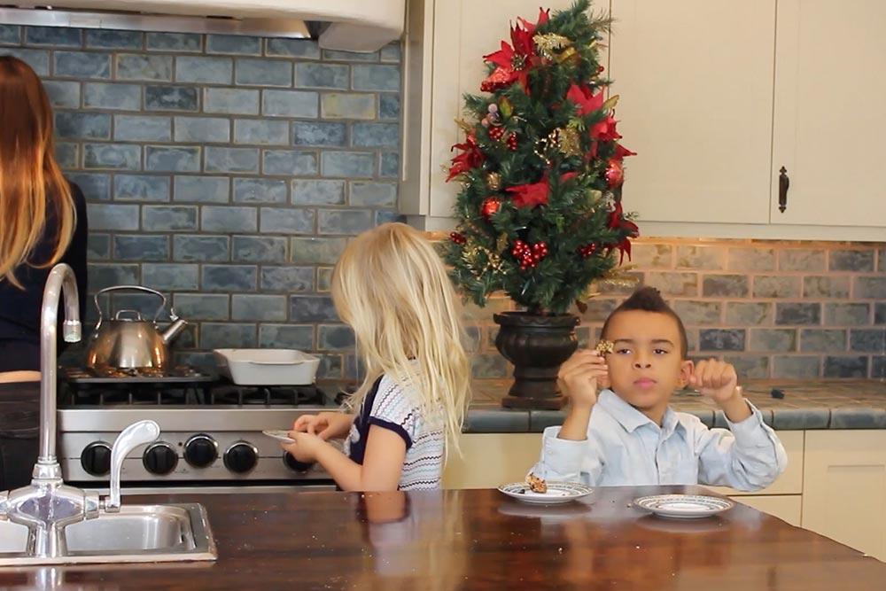 blooper reel: kids in kitchen