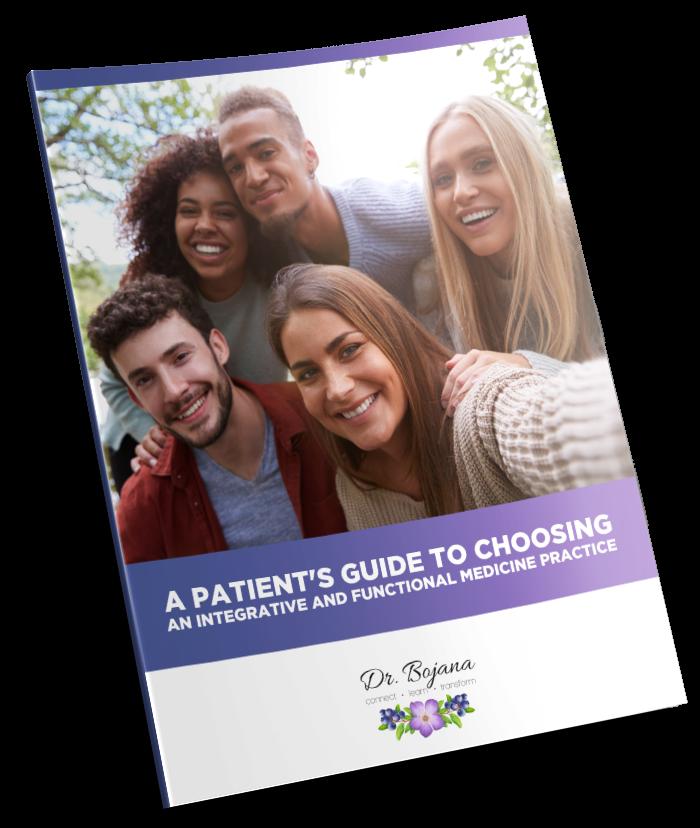 patient guide mockup