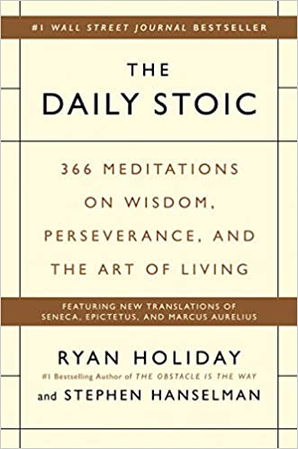 Daily Stoic book cover