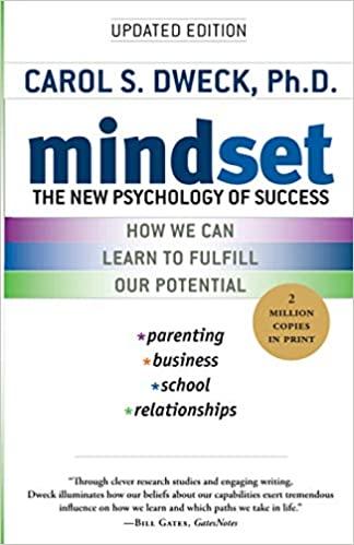 Mindset book cover