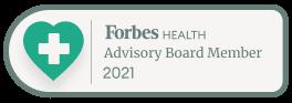 Forbes Health Advisory Board Member Badge